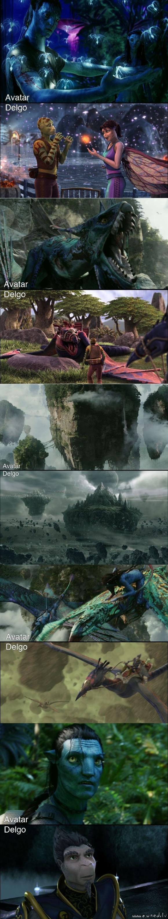 Avatar vs Delgo