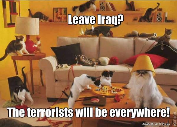 Terrorists everywhere !