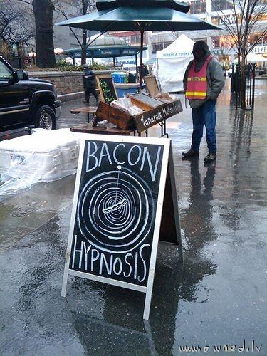 Bacon hypnosis