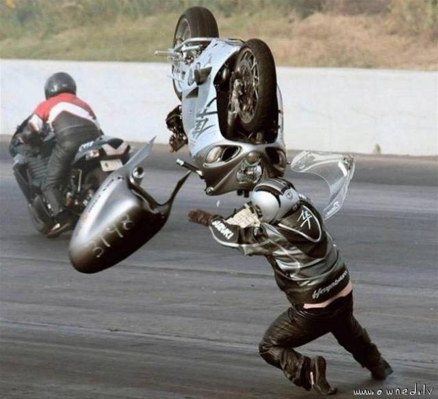 Oh noes my bike