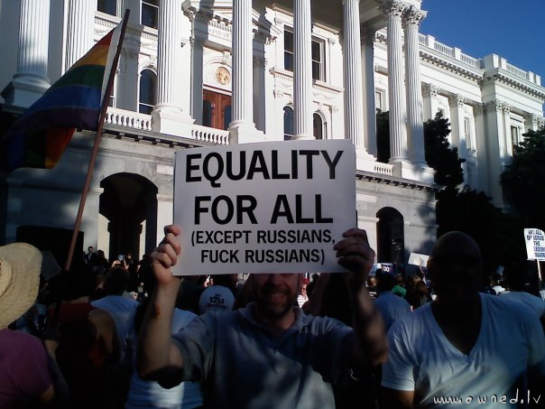 Except russians