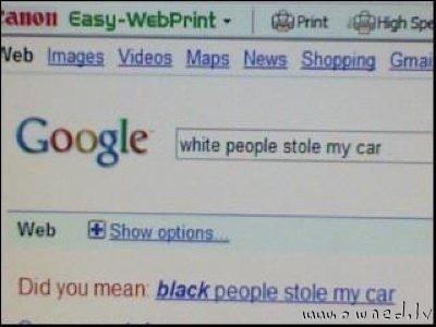 Google correction
