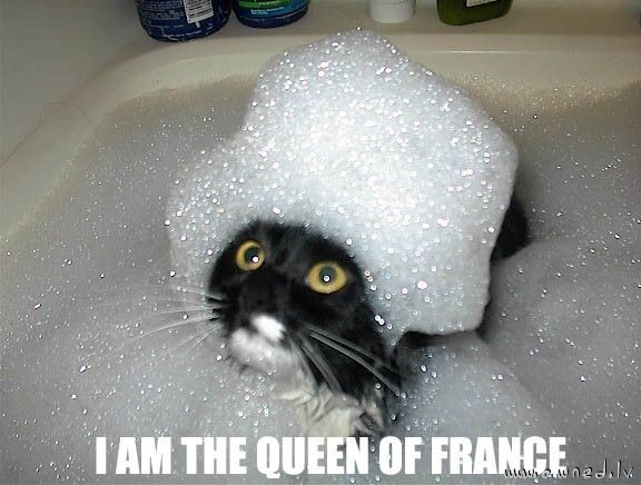 I am the Qeen of France