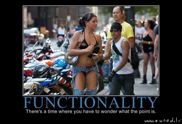 Functionality