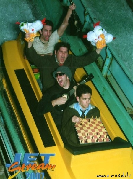Roller coaster ride photo