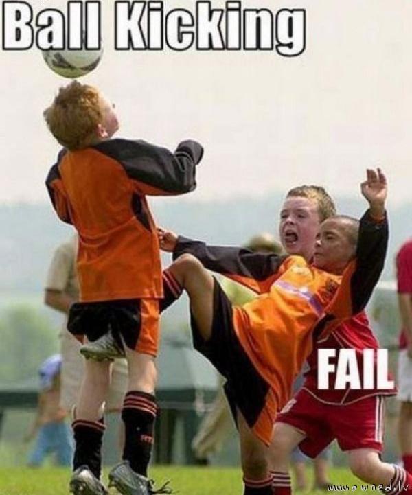 Ball kicking