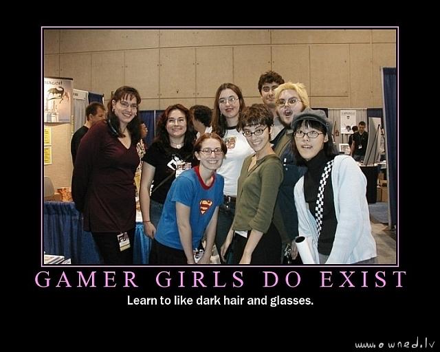 Gamer girls do exist