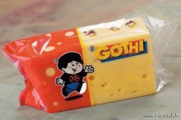Goth cheese