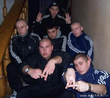 Russian thugs