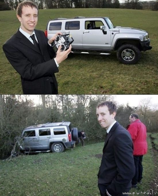 Remote controlled Hummer