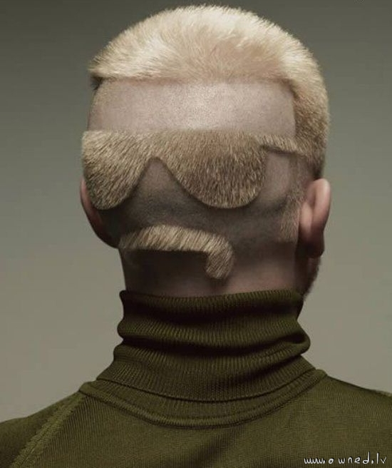 Cool haircut