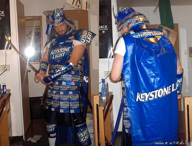 Samuray of the Keystone Light