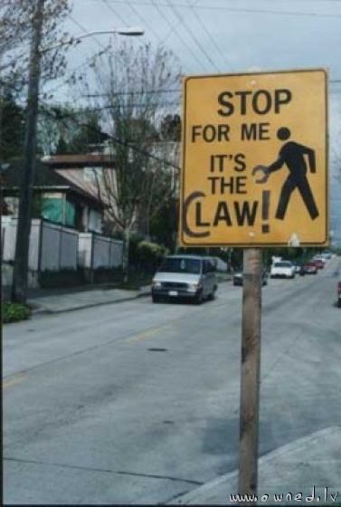 It's the Claw !