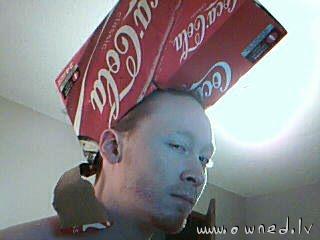 Stylish Coca-Cola hat