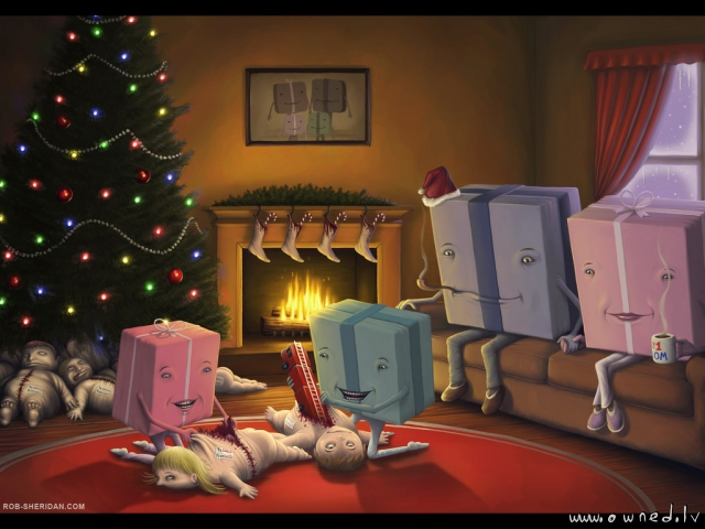 Lets open presents