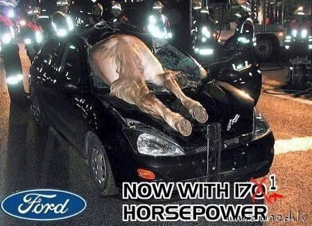 More horsepower
