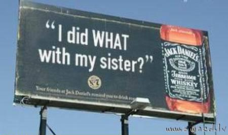 Jack Daniels advert