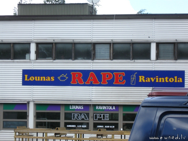 Rape bar