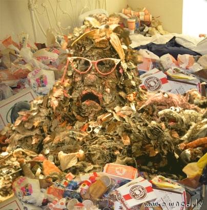 Trash demon