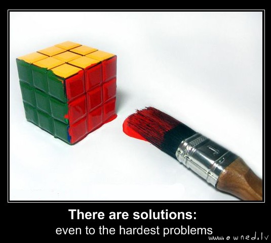 There are solutions