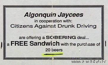 Citizens against drunk driving