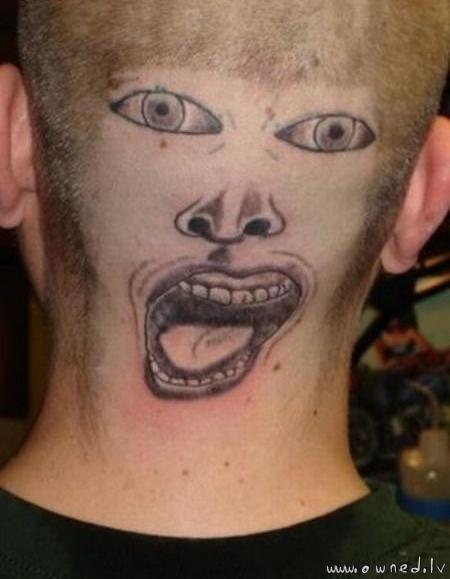 Strange tattoo