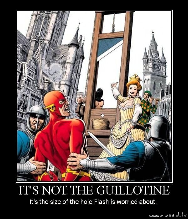 Its not the guillotine