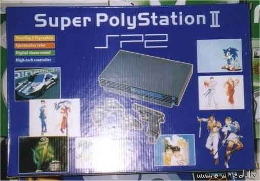 Super PolyStation 2 - fake Playstation 2
