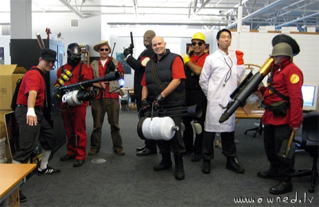 Team Fortress 2 cosplay