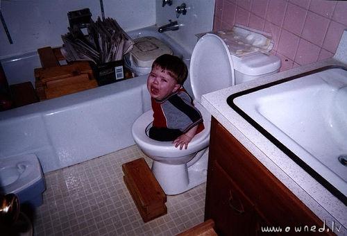 Dont flush me
