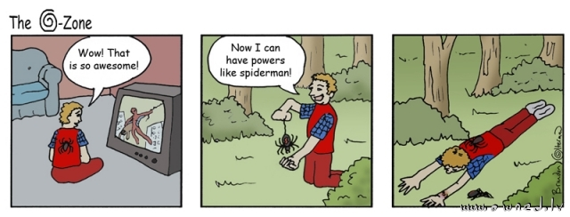 Spiderman powers