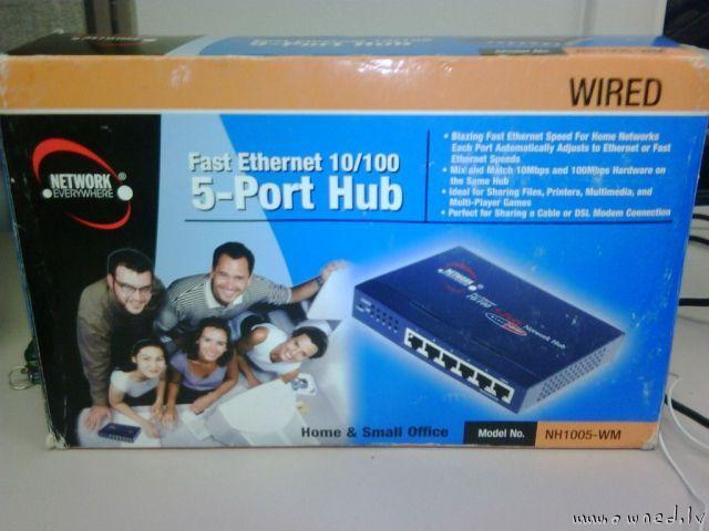 5 port hub