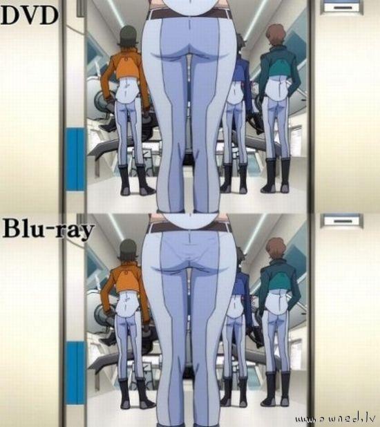 DVD vs Blu ray