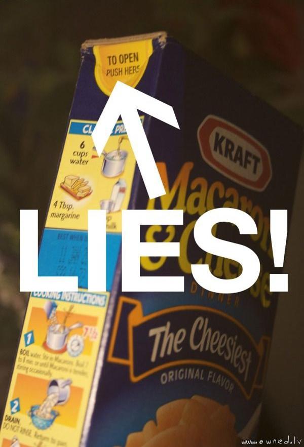 Lies !