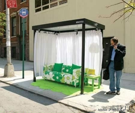 The coolest bus stop in the world