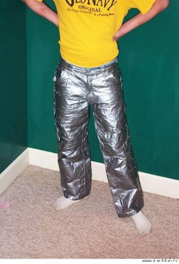 Duct tape pants