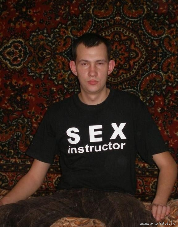 Sex instructor