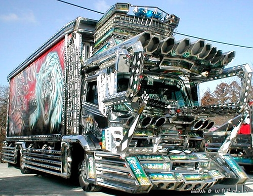 Ugly modified truck