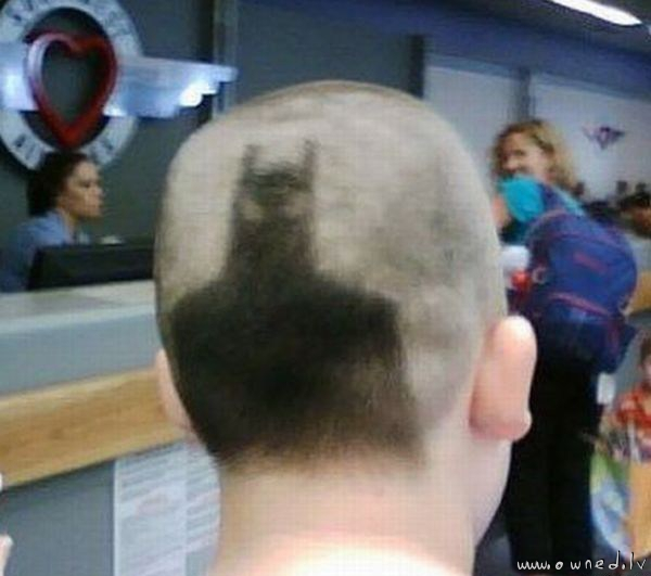 Batman haircut