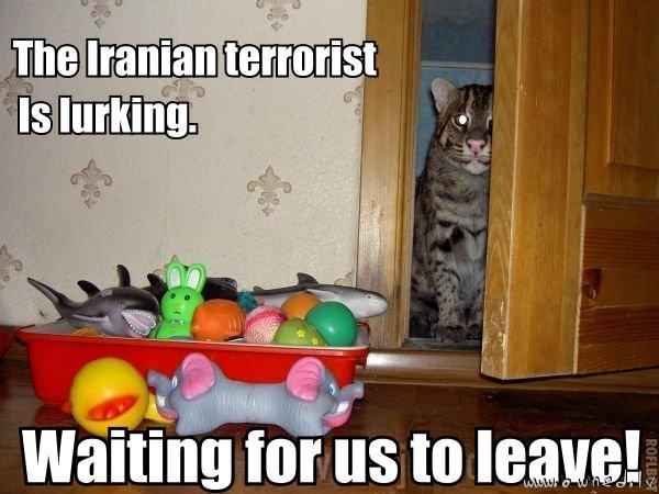 Terrorist is lurking ...