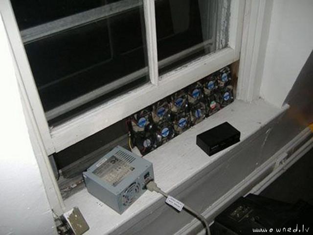 Ghetto air conditioner