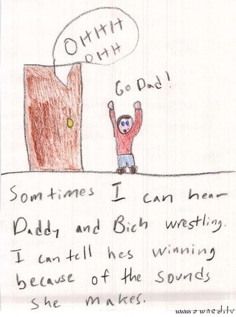 Go dad !