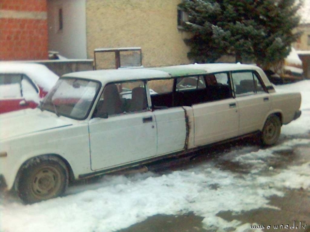 Russian limo