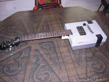 Nintendo guitar