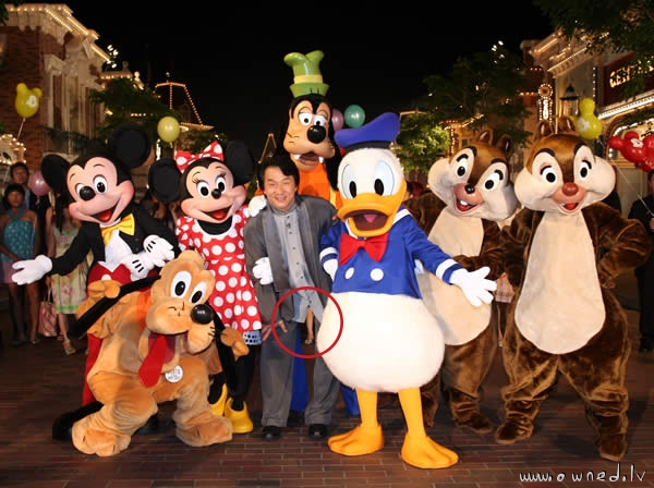 Jackie Chan in the Disneyland ...