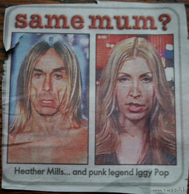Same mother ?