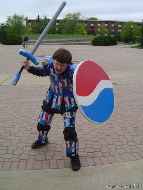 Knight of the Pepsi