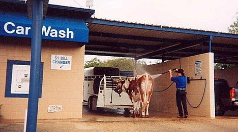 only in texas - car wash