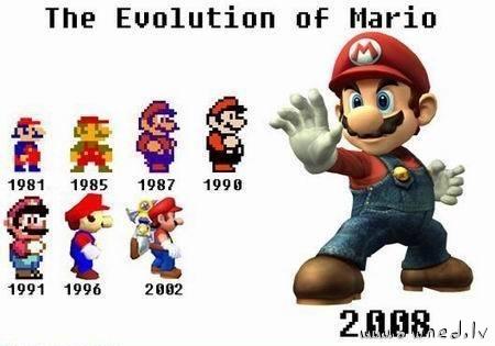 The evolution of Mario