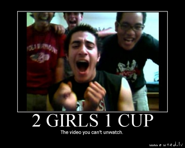 Girls and a cup